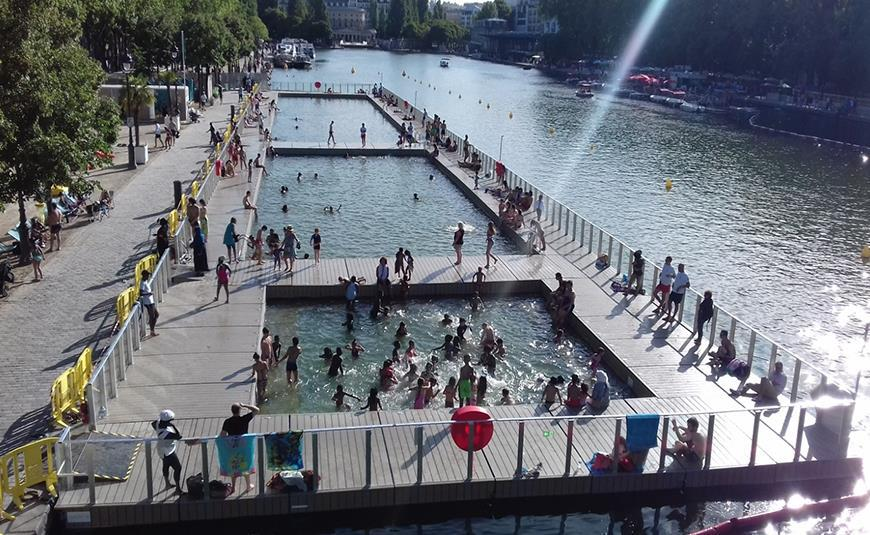 FRANSA SAINT-JUERY FLOATING POOL PROJECT